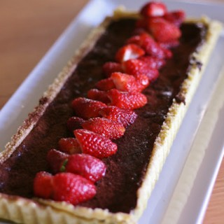 Chocolate Tart from Travelling with Thermomix
