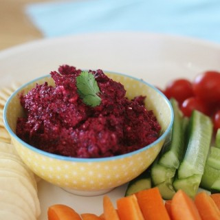 Paleo Roasted Beetroot Dip